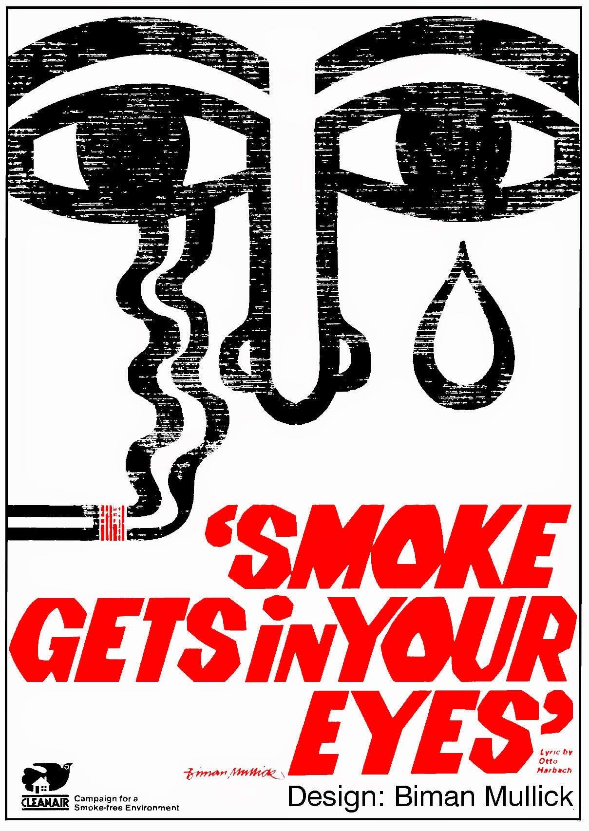 biman mullick s anti smoking posters