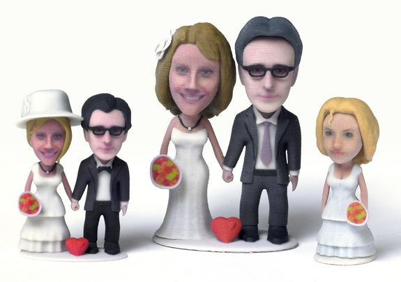 Sculpteo Bridal Party