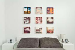 CanvasPop Multi-Image Layout of Instagram photo prints
