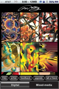 App created by artist Colin Goldberg