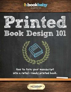 CoverPrintedBookDesign101