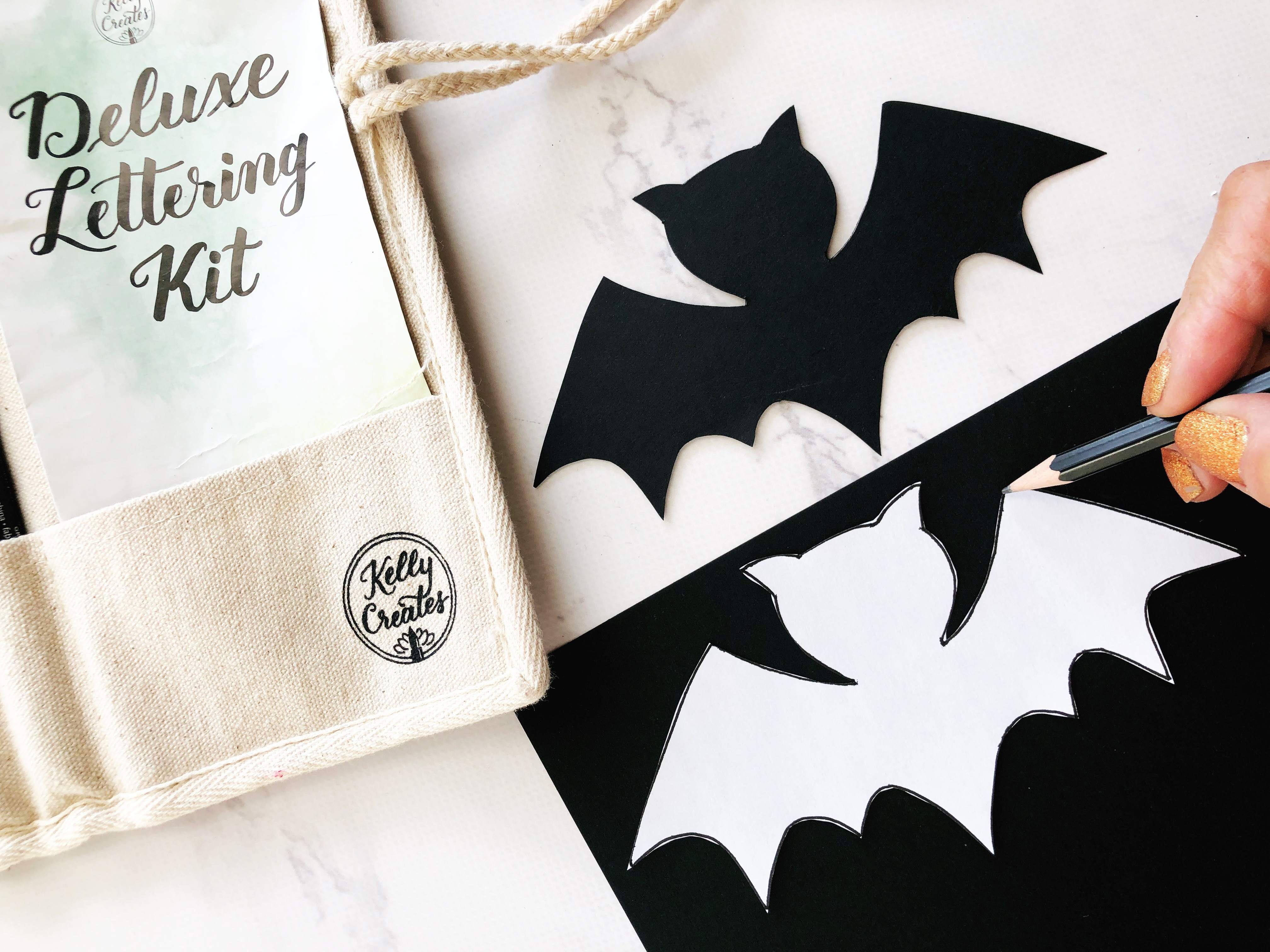 Kelly Creates Products Used To Design A Halloween Card