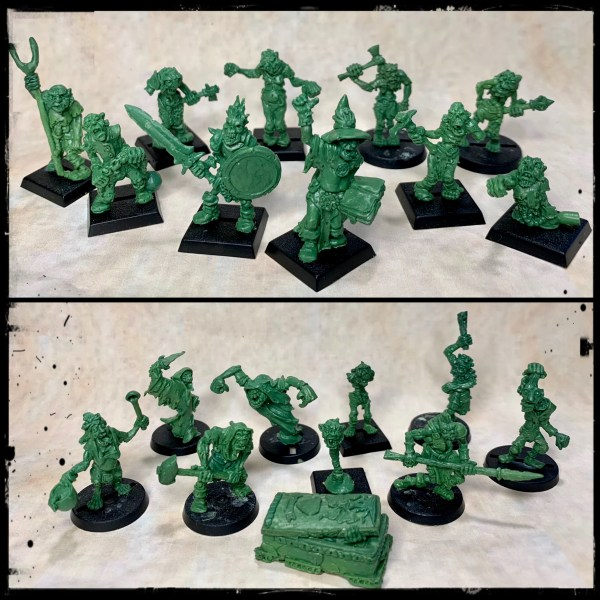 Undead Army Set 1 £90