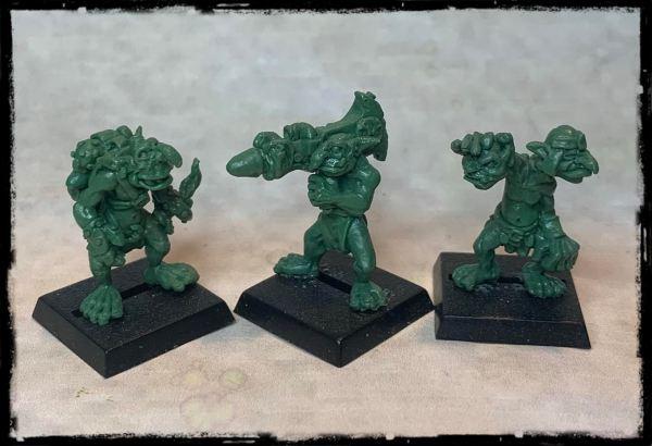 Chaos Goblin Foot soldiers - Bazooka Unit!