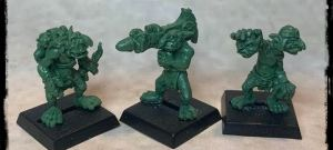 Chaos Goblin Foot soldiers - Bazooka Unit!