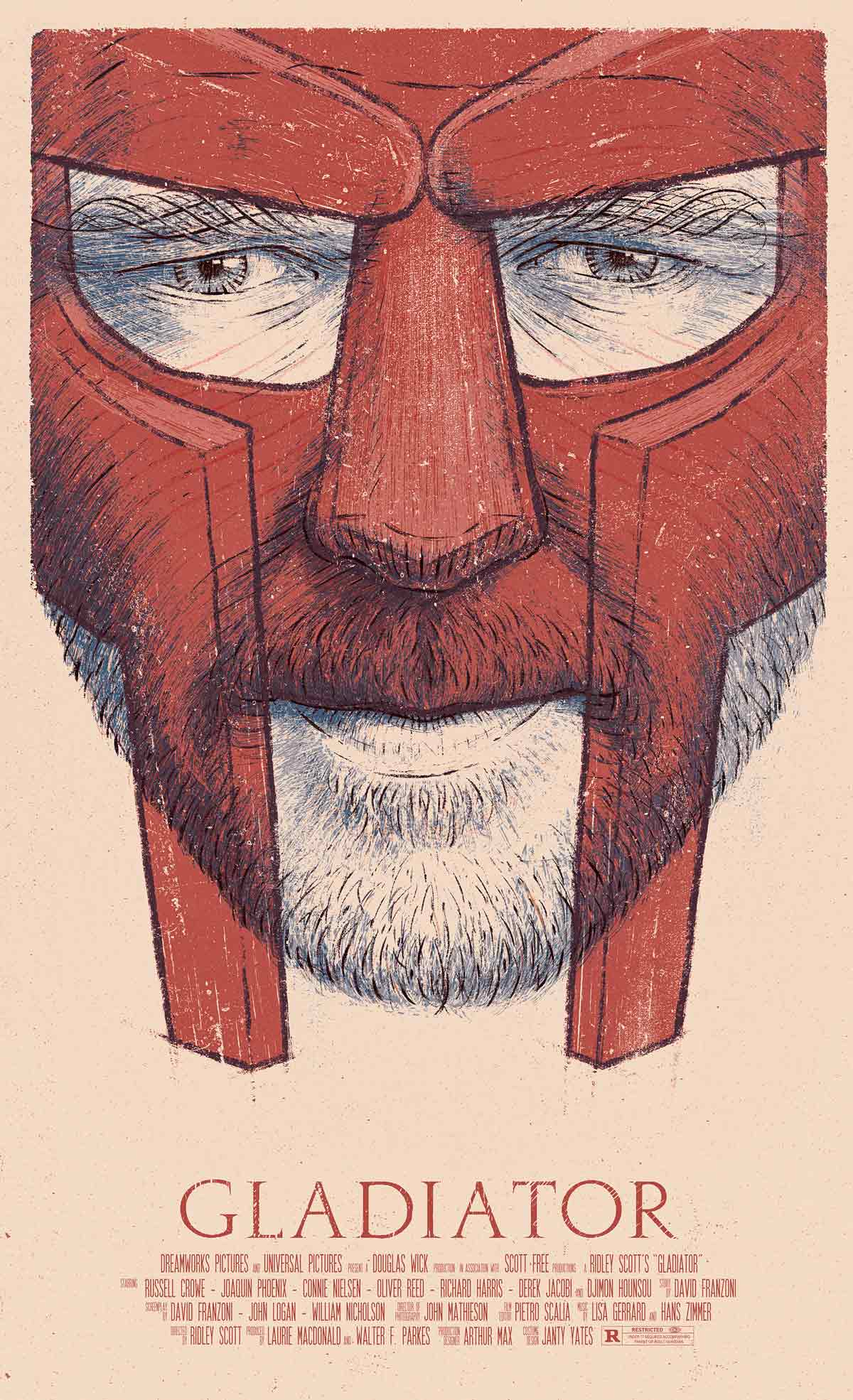 film poster illustrations by bartosz