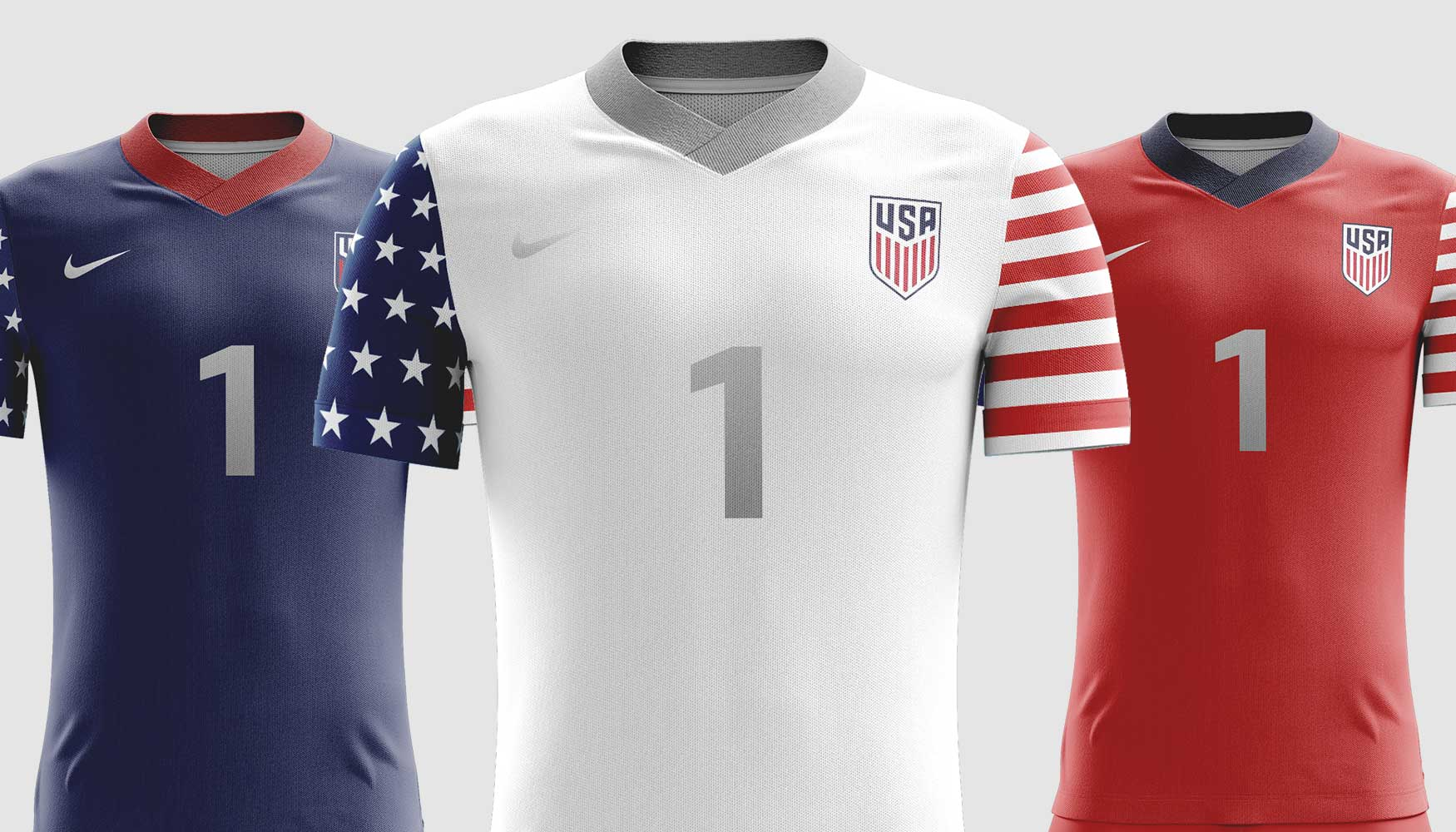 watch b3a61 d19fe Concept Nike US Soccer Jersey Designs | USMNT Jersey Concepts