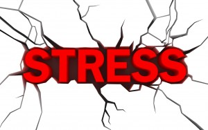 graphics that says stress!