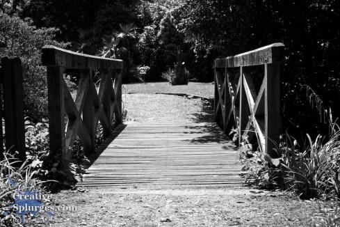 perspective shot of a bridge