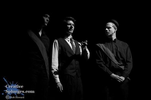 Three stooges in the dark