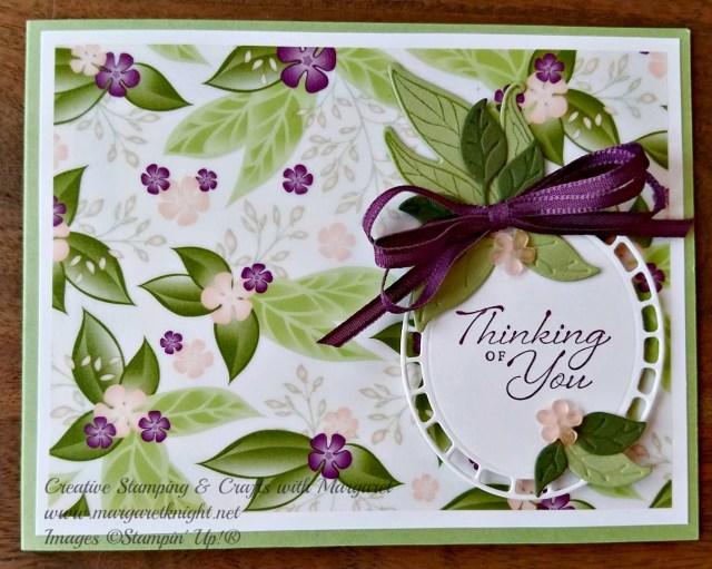 Floral Romance Specialty Designer Series Paper