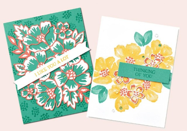 Blossoms in Bloom Cards