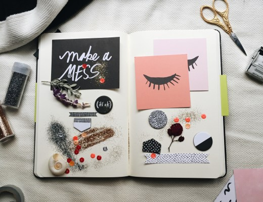 temporary mood board diy creativestay