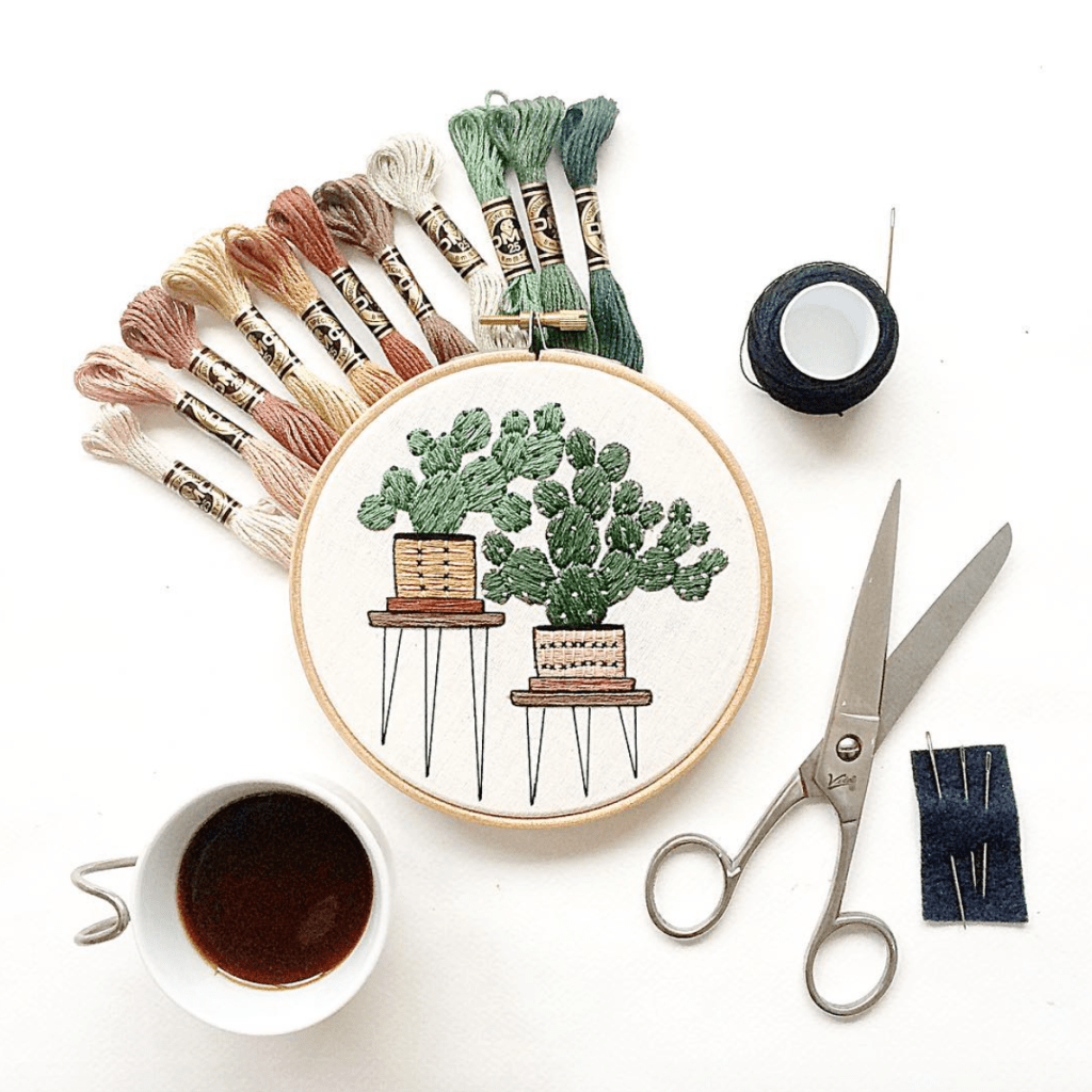 sarah benning embroidery creativestay crafting gift guide