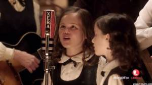 "Film Academy Graduate Mary Stewart Sullivan as young June Carter Cash in Lifetime move ""Ring of Fire"""