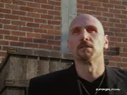 Ken Feinberg in Charmed as the Demon in Black, about to explode!