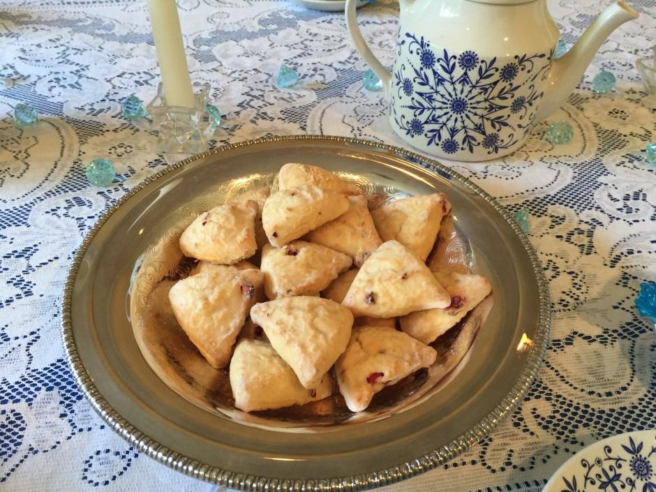 Petite scones