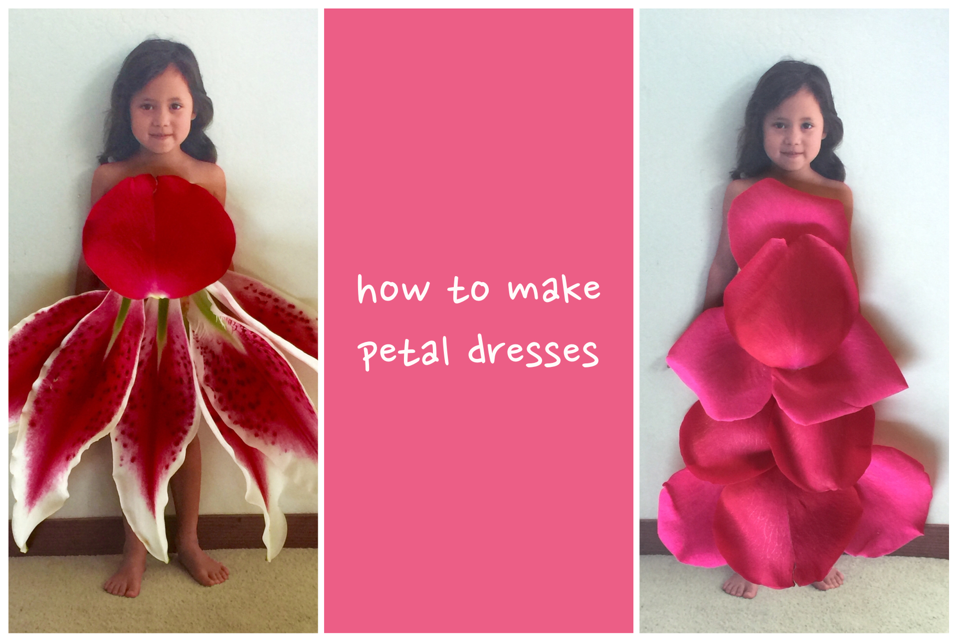 How to Make Petal Dresses