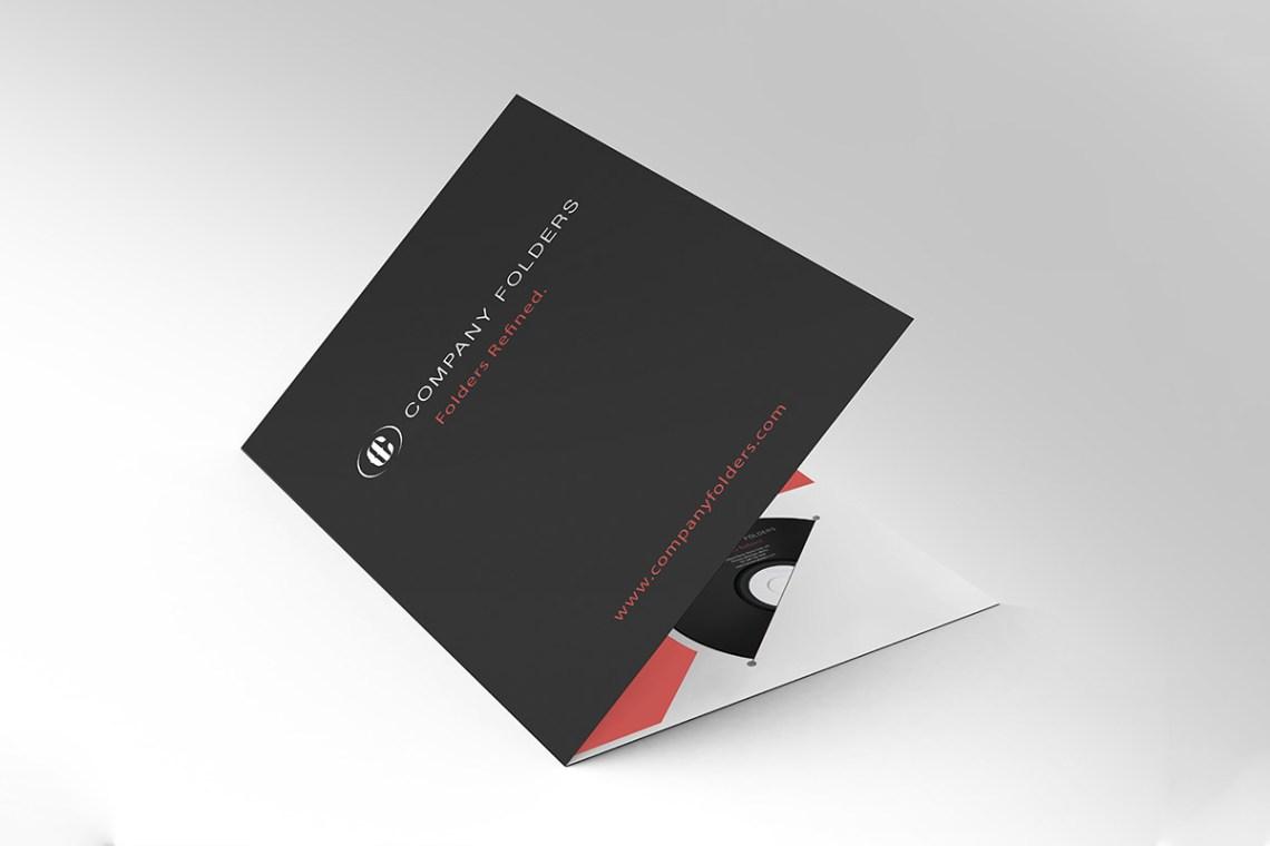 Download Free A4 Pocket Folder Mockup ~ Creativetacos