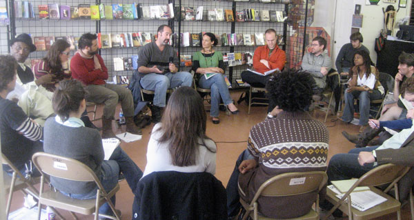 THT in NOLA at Community Book Center March 2008