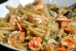 pasta+&+shrimp