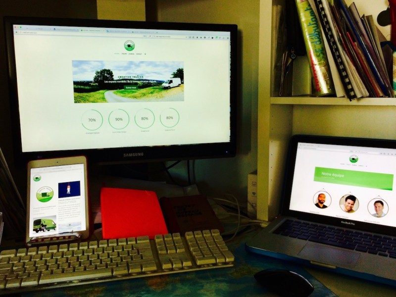 Lancement de creativetrucks.com