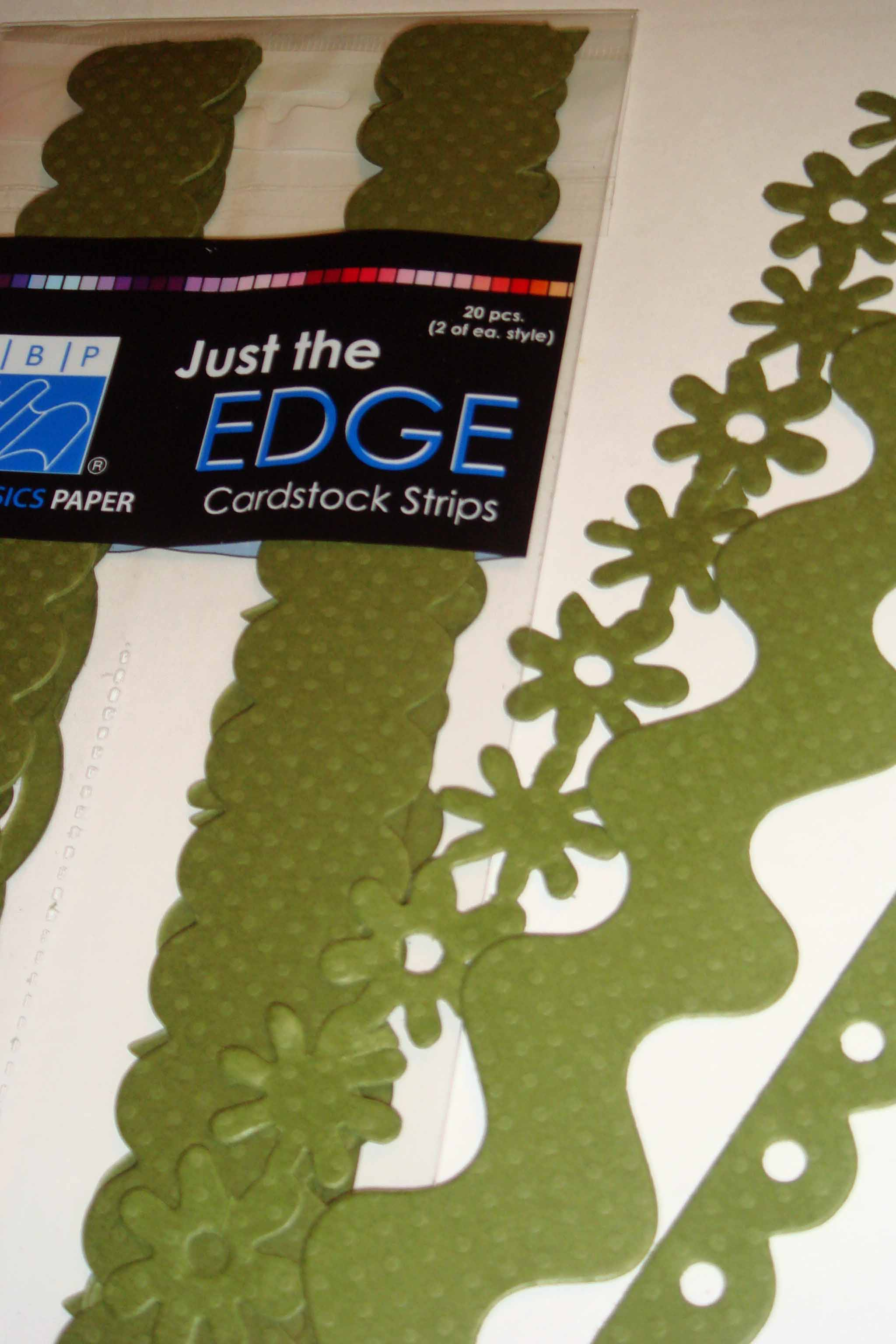 borders bazzill green package