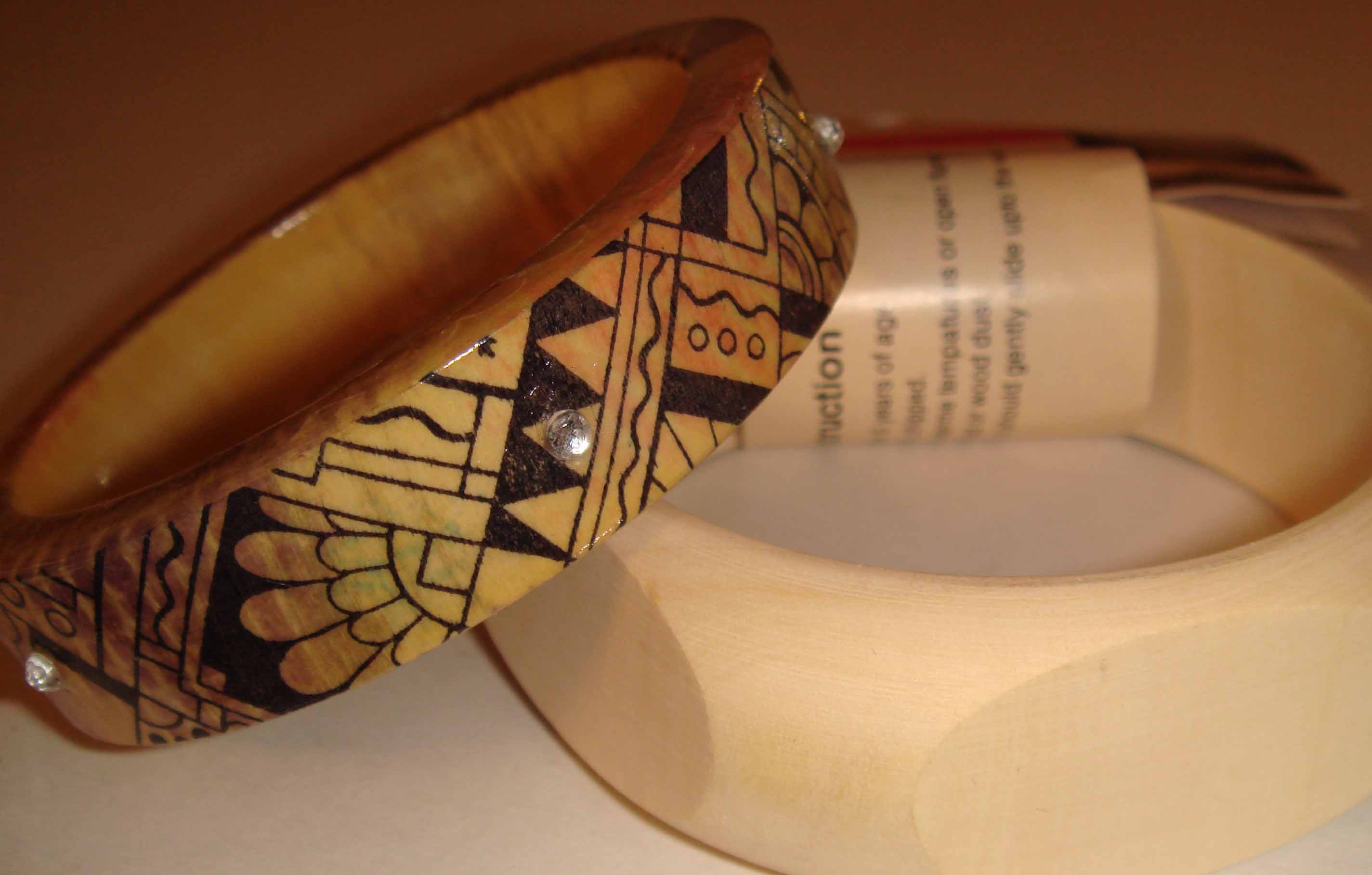 bangle decorated