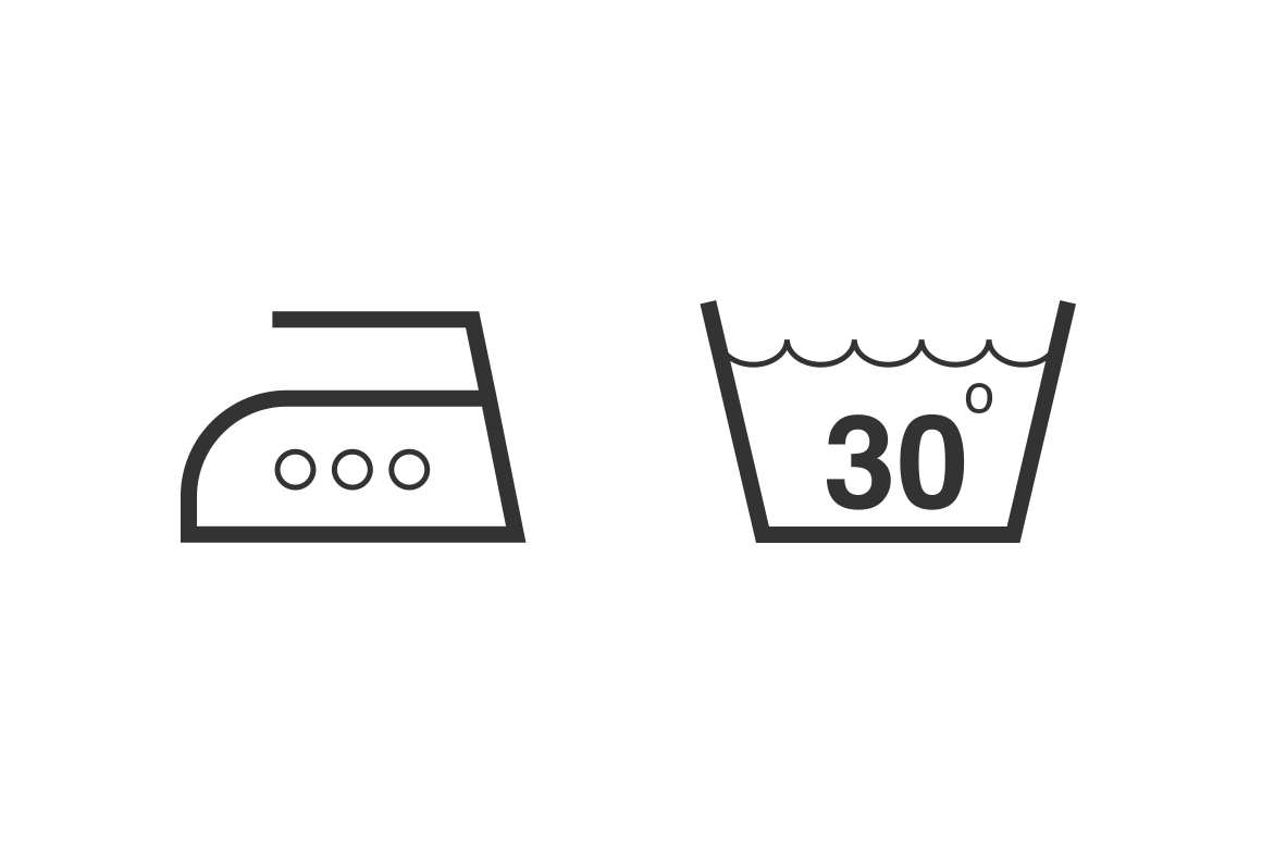 15 Laundry Symbols And Icons