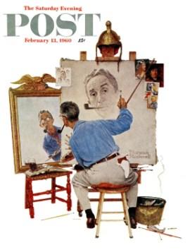Triple Self-Portrait, 1960