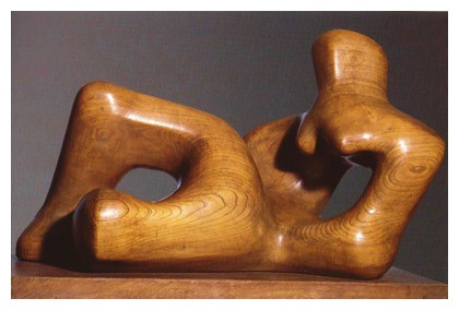 Reclining Figure by Henry Moore, 1936