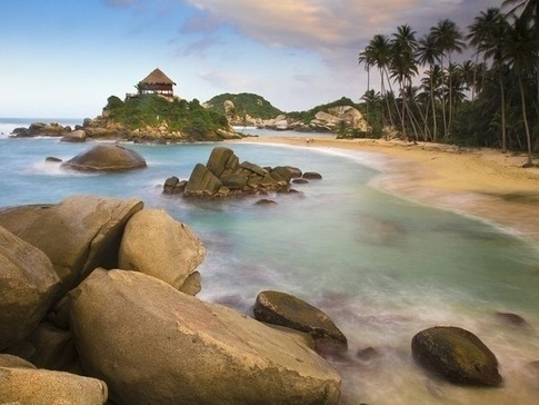 Tayrona National Park in Colombia