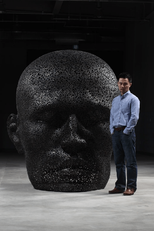 giant head