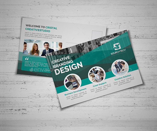 Design Business Postcard