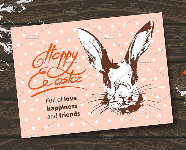 Easter Vintage Greeting Card