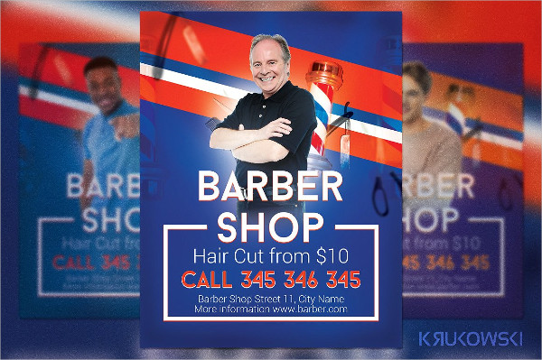Modern Barbershop Flyer Template