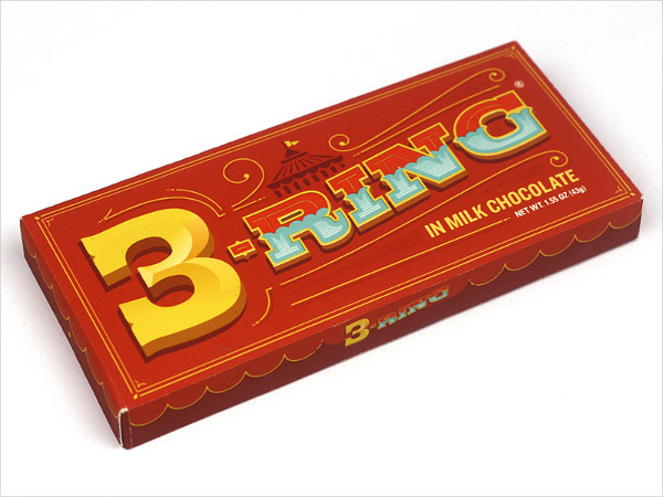 Ring Chocolate Package Design