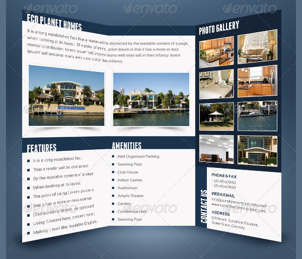 Sunshine Construction Company Brochure