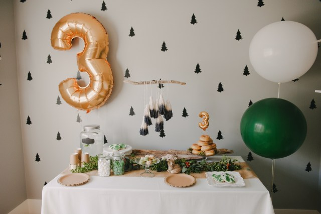 Forest themed party by Heather and Gem Events | Creative Wife & Joyful Worker