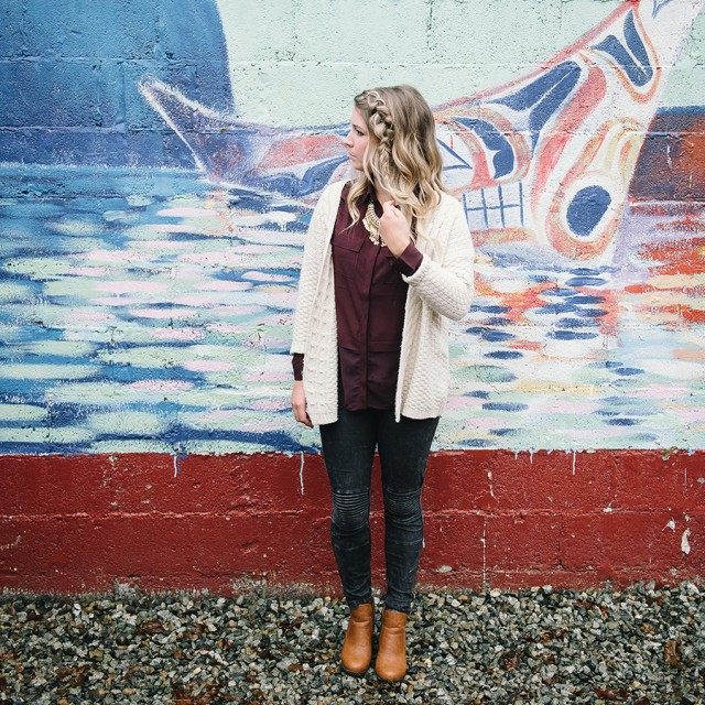 A Cozy Casual Lookbook | Creative Wife & Joyful Worker