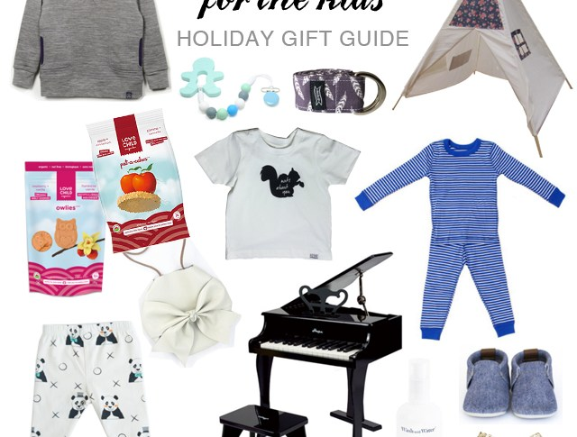 Kids Holiday Gift Guide and Giveaway