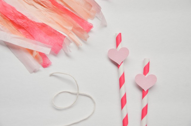 Easy DIY Tassel Garland Cake Topper