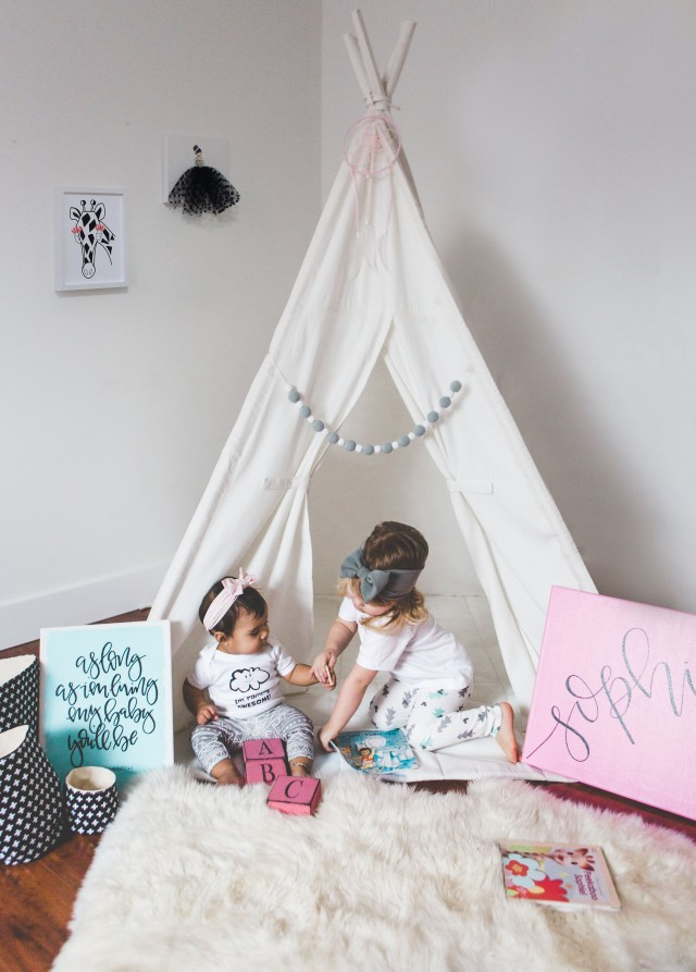 Kids Nursery Teepee Set up - Creative Wife & Joyful Worker