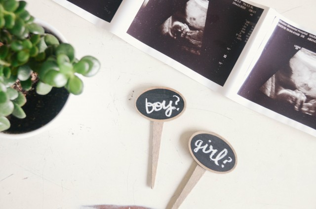 What is the gender? Unique gender reveal with plants