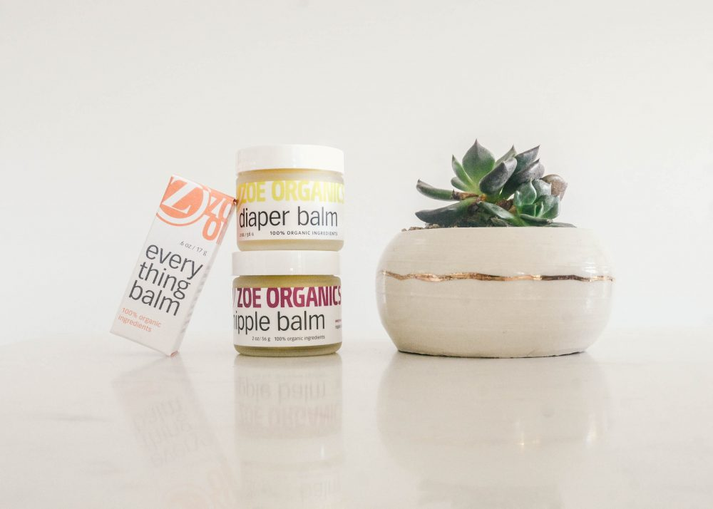 Zoe Organics // Natural Products for Mom and Baby