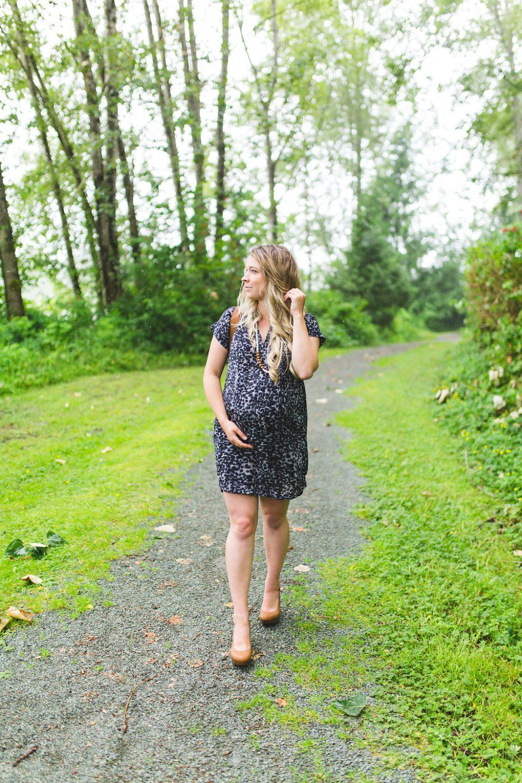 Loyal Hana Maternity Dress at 35 weeks pregnant