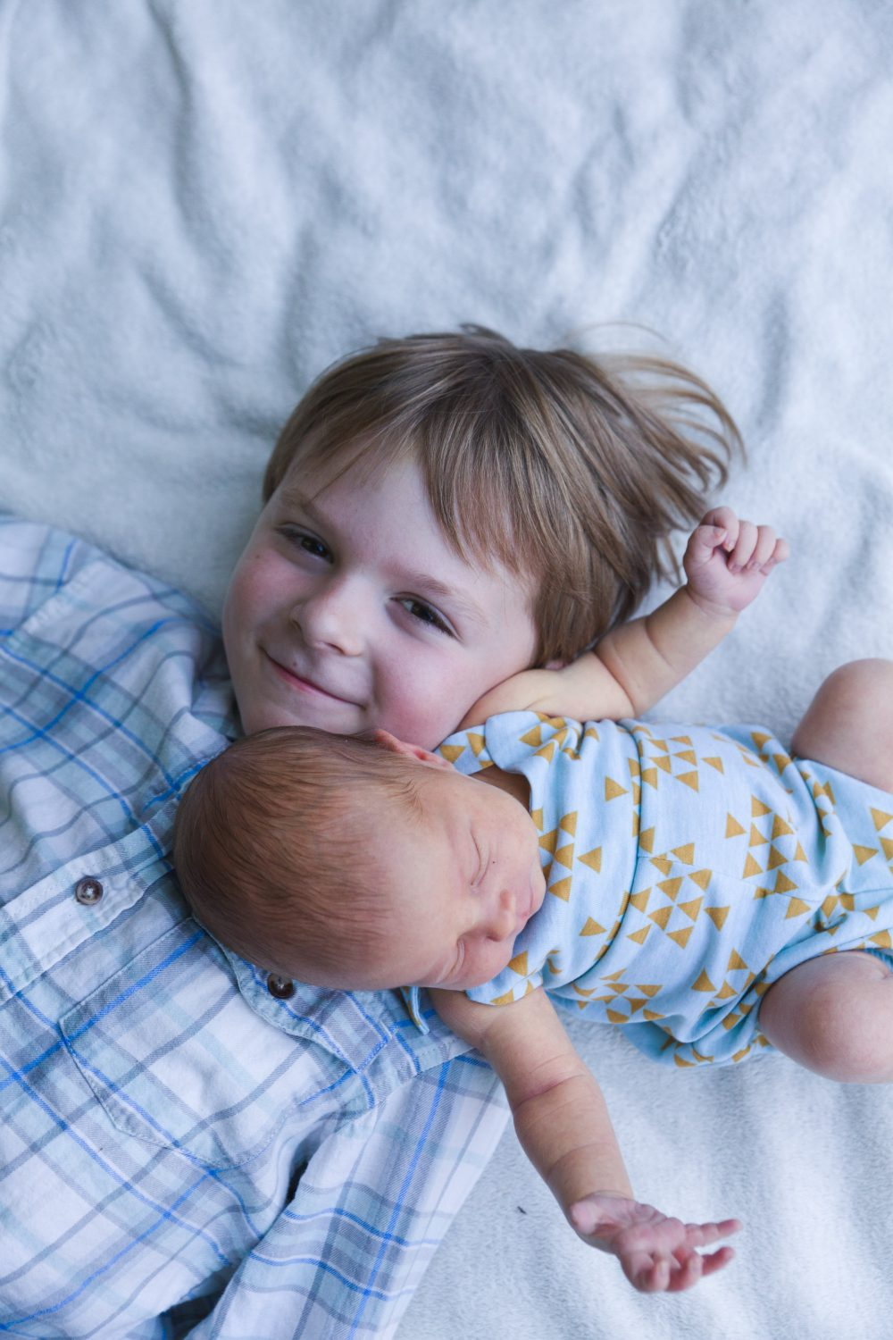 Brother and Sister | Newborn Photography