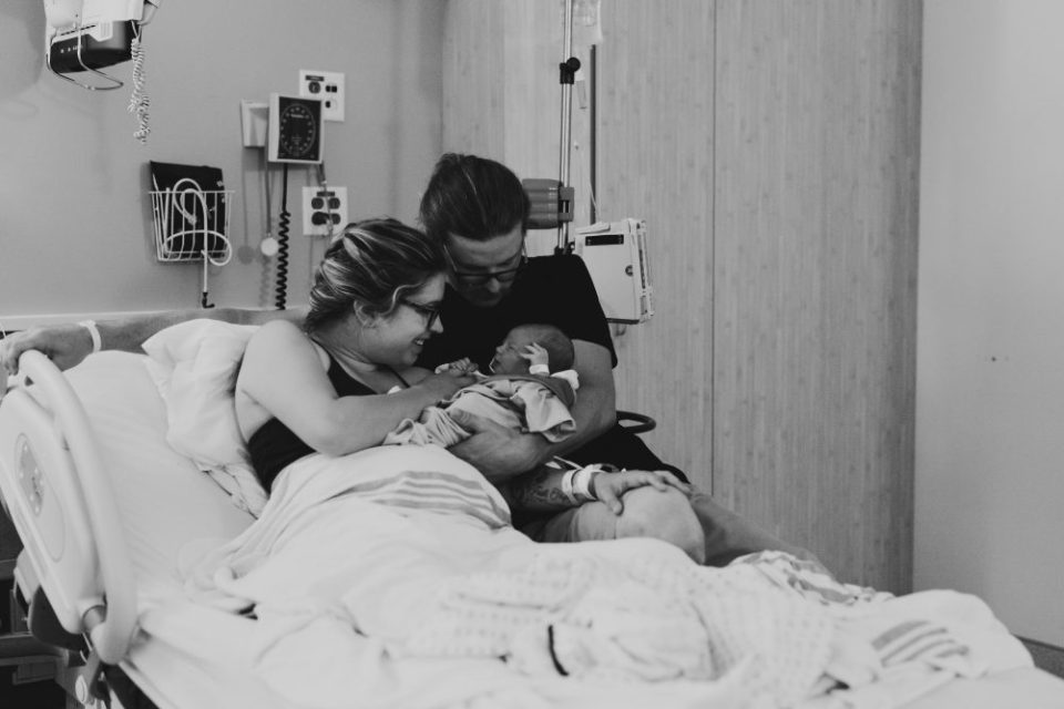 New Born Baby Photography in the Hospital