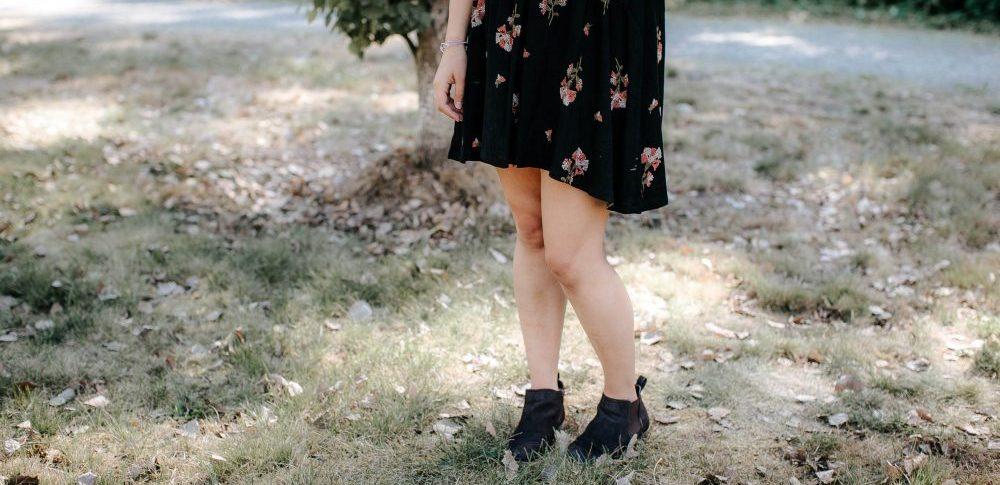 Fall Floral Dress | Dressy Casual Fashion