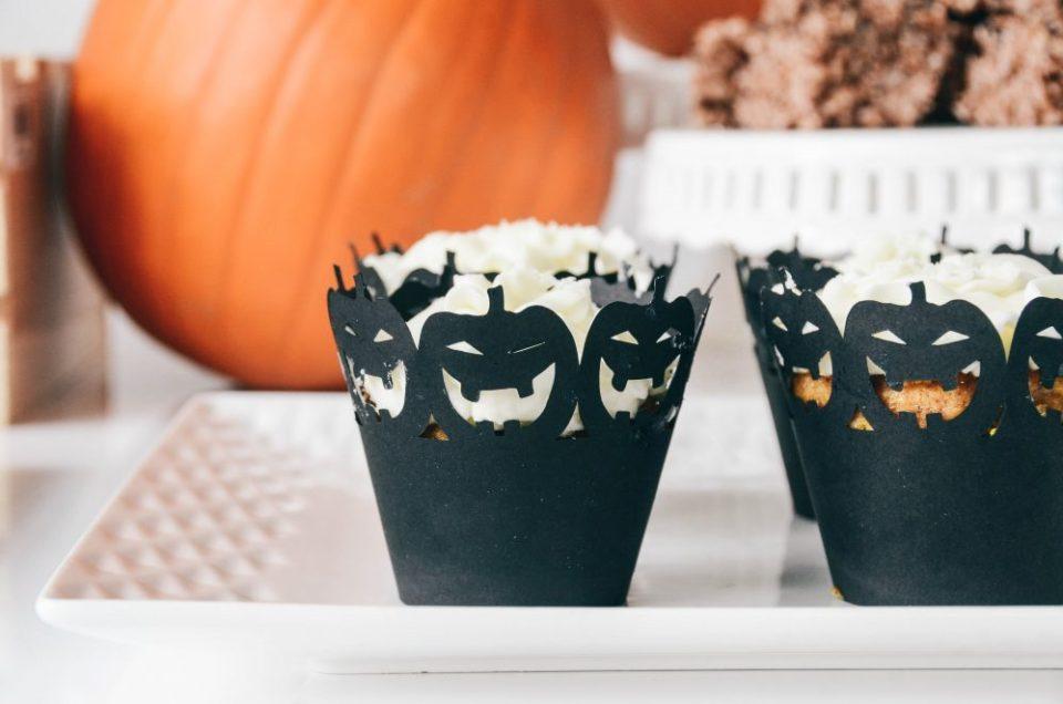 Halloween Themed Dessert Table Decor